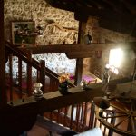 Casa Rural, Escalera desde arriba.