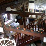 Casa Rural, Chimenea desde arriba.